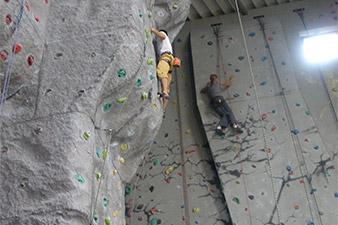 Kletterhalle Klettern