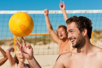 Ballsport Beachvolleyball