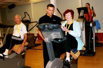 Squash & Fit Gesundheit Fitness Test